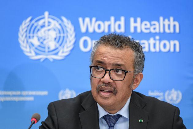 Le directeur général de l'OMS, Tedros Adhanom Ghebreyesus, ici à Genève le...