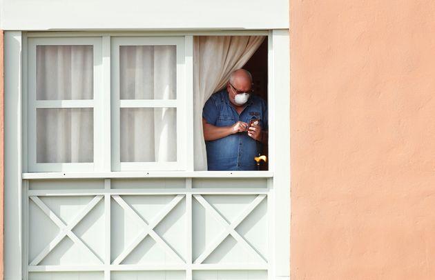 Cuarentena en el Hotel H10 Costa Adeje Palace, en Adeje