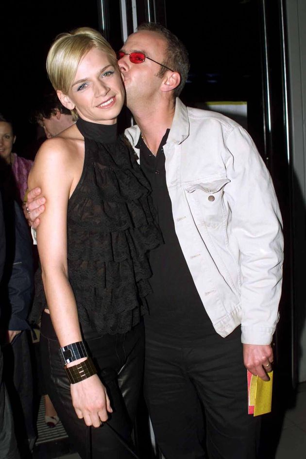 Zoe Ball and her then-husband Norman Cook, aka. Fatboy