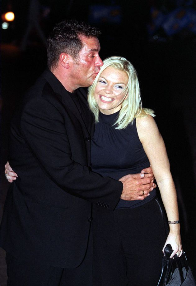Dale Winton and Kate