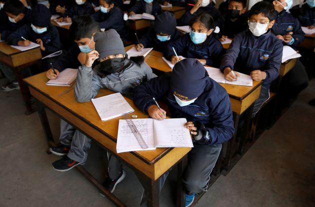 Fermer les écoles, une bonne stratégie face au nouveau coronavirus ? (photo d'illustration:...
