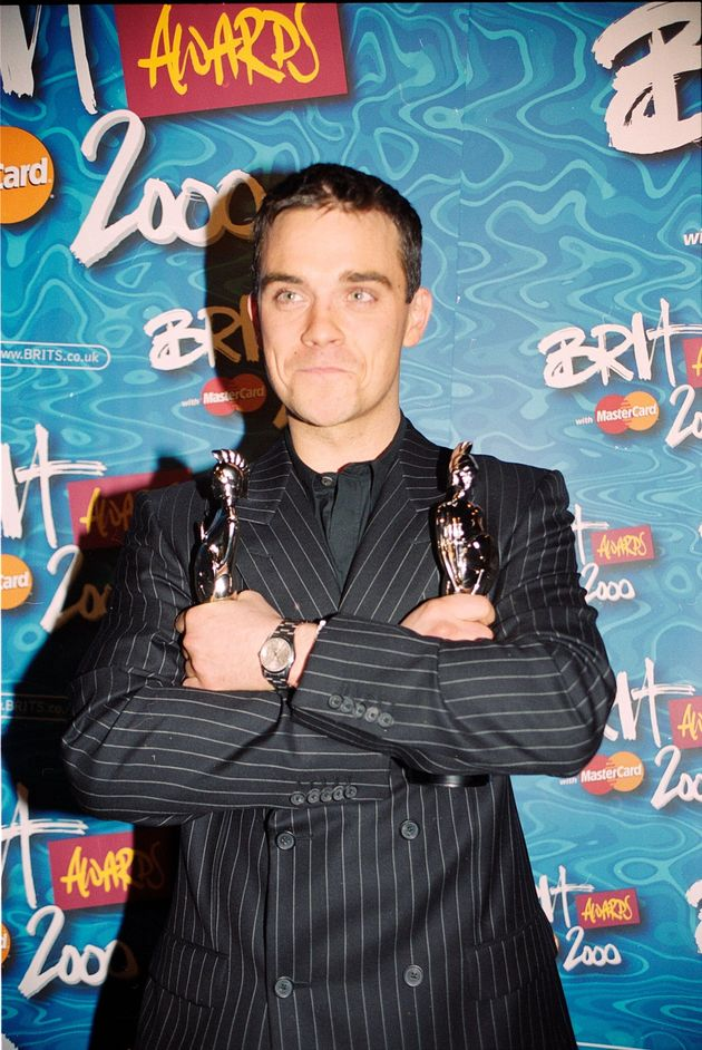 Robbie is still the artist with the most Brit Awards to his