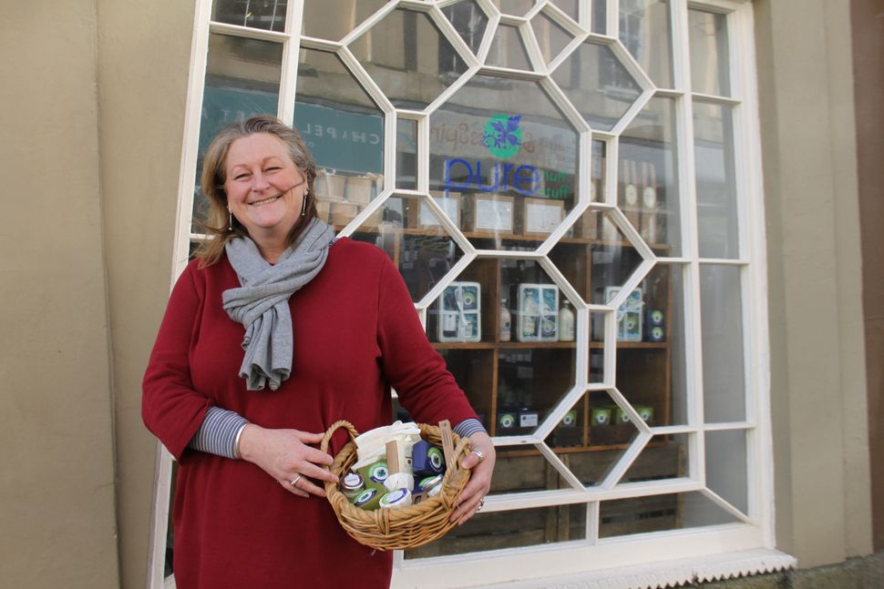 Emily Kavanaugh, owner of Pure Nuff Stuff in Penzance.