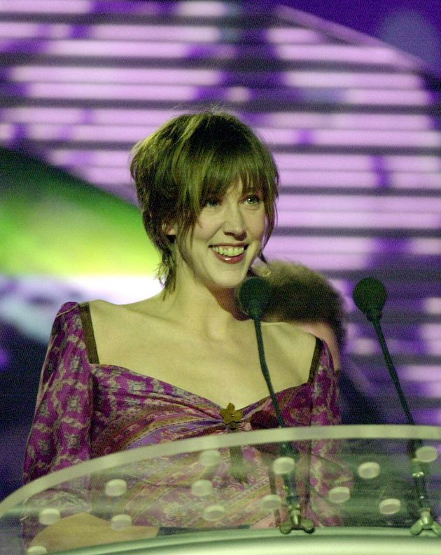 Beth Orton accepts her award for Best British