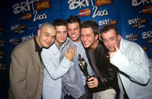 It was a big night for Five, who opened the show and later won Best British Pop