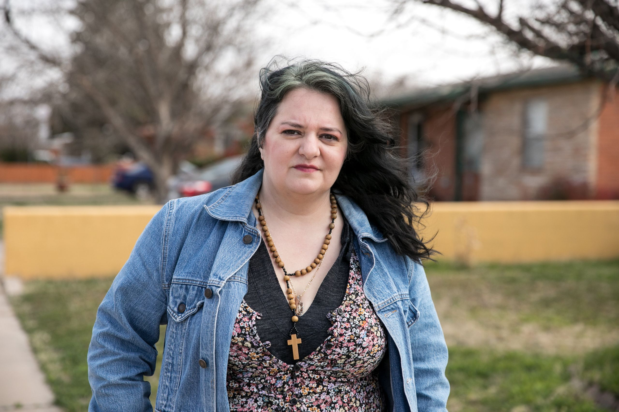 Stephanie Vela Anderson, who grew up in Big Spring, is helping to organize against Dickson's abortion bans.