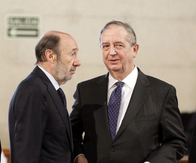 Imagen de archivo de Anasagasti junto a Alfredo Pérez