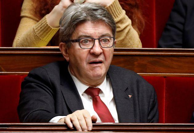 Jean-Luc Mélenchon, ici à l'Assemblée nationale le 7 janvier