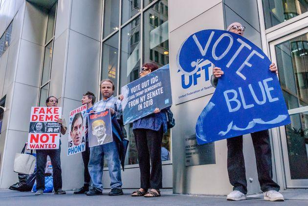 El sindicato local de docentes más grande de Estados Unidos enfrenta enfrentamientos en 2020