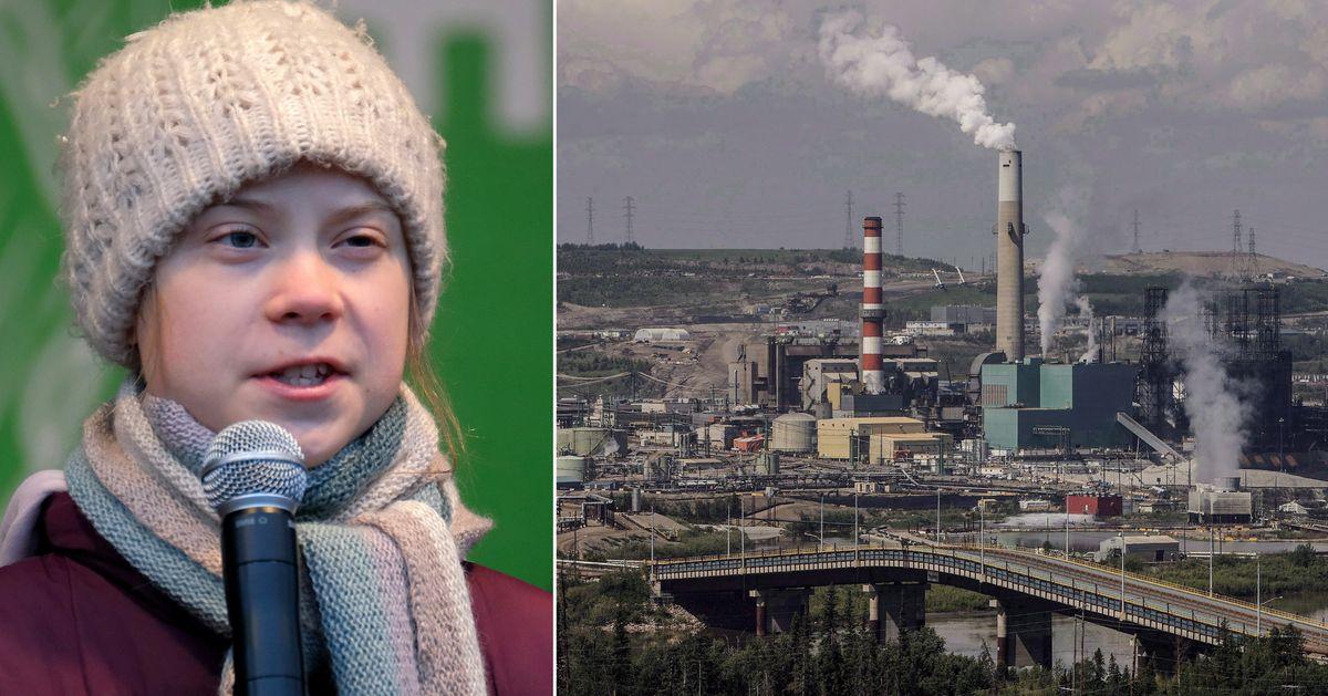 Disgusting Sticker Of Greta Thunberg Linked To Alberta Oil