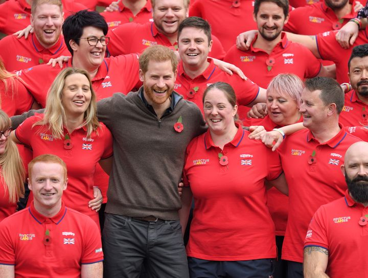 Harry attends the launch of Team UK for the Invictus Games The Hague 2020 on October 29, 2019 in London. HRH is Patron of the