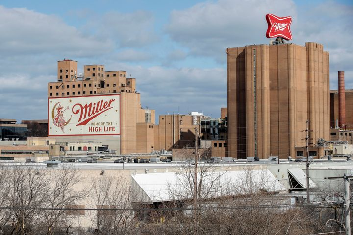 MILWAUKEE, WI - FEBRUARY 27: An exterior view of the Molson Coors Brewing Co. campus on February 27, 2020 in Milwaukee, Wisco