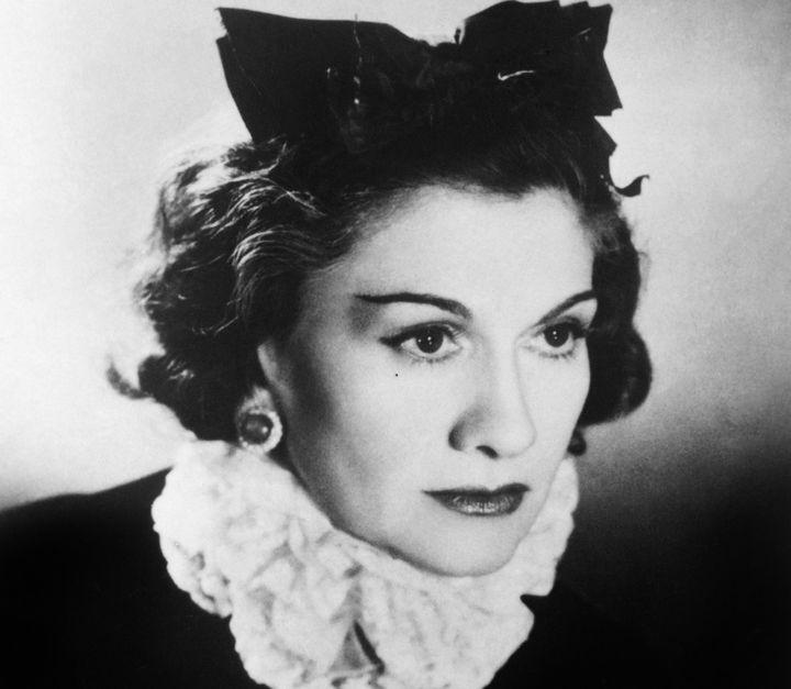 Coco Chanel em 1944.