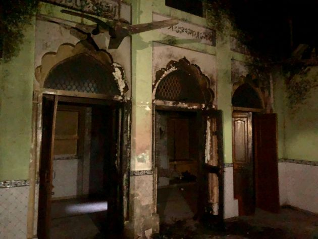 The Chand mosque in Ashok Nagar was attacked on 25 February in the Delhi