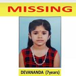 Body Of Missing Kerala Girl Devananda Found In River Near Her