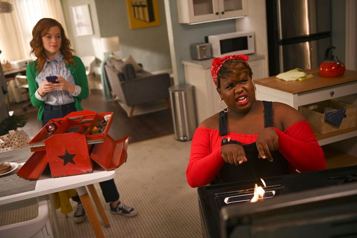 "Jane Levy (left) and Alex Newell star in NBC's ""Zoey's Extraordinary Playlist."""