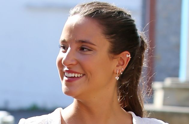 Marta Pombo, fotografiada en su boda el 28 de septiembre de