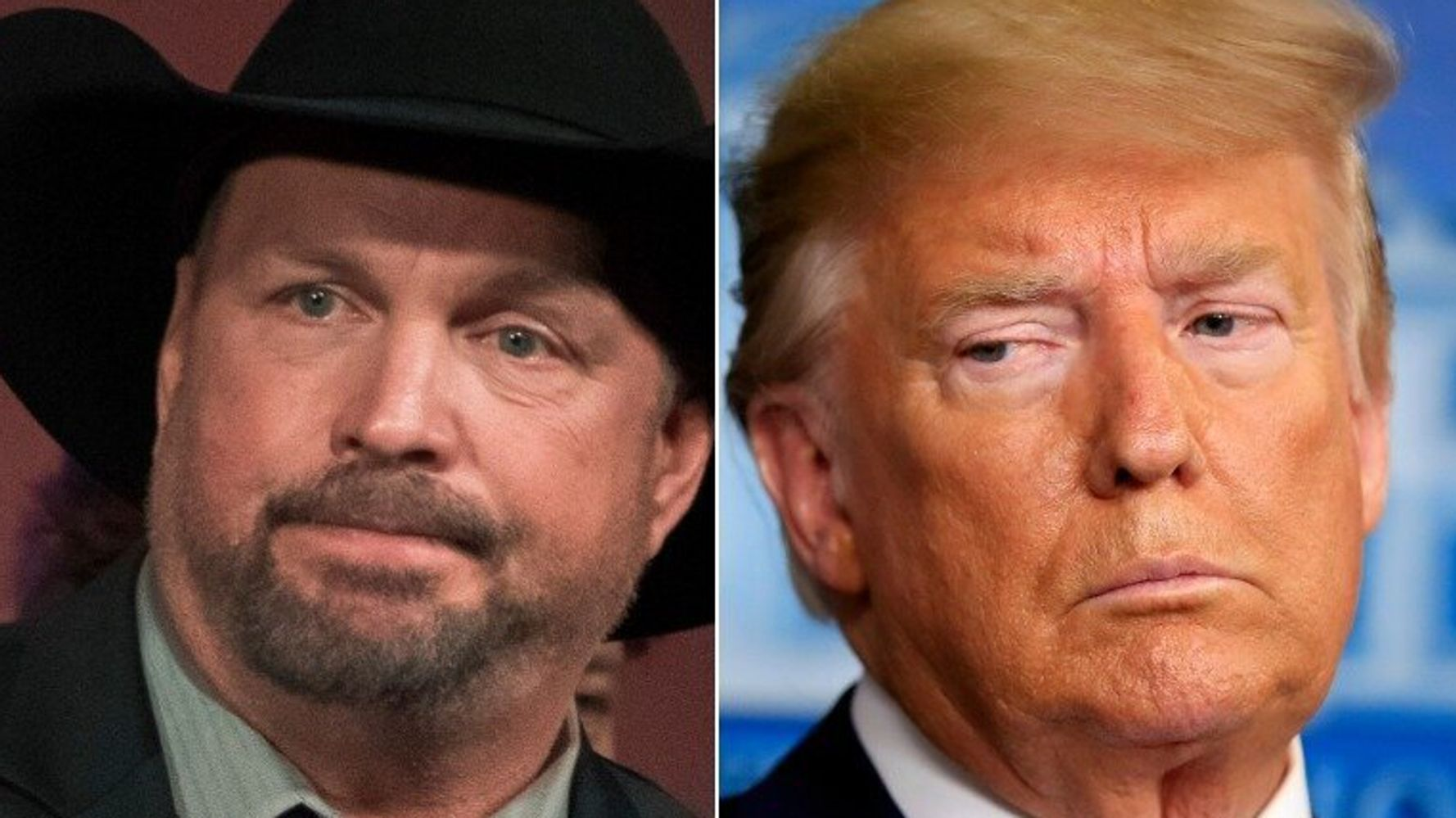 Trump Supporters Flip Out After Completely Misreading Garth Brooks' Shirt