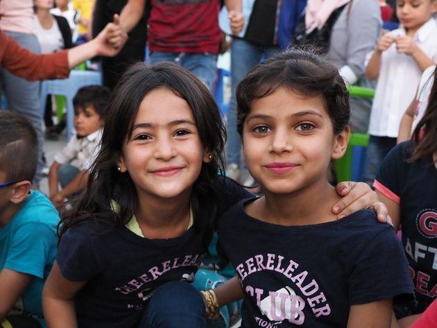 今年10月、イラク北部、クルド自治区の難民キャンプで出会ったシリアの子どもたち