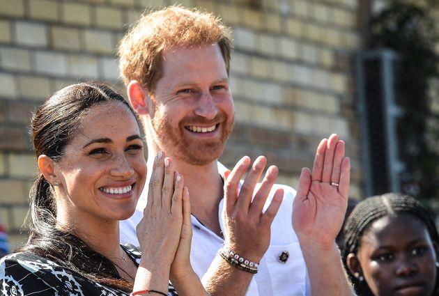 Le duc et la duchesse de Sussex, Harry et Meghan Markle en septembre