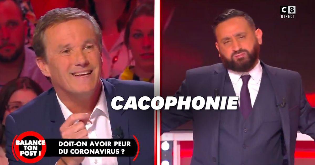 """Hanouna et Dupont-Aignan s'écharpent sur le plateau de """"Balance ton post"""""""