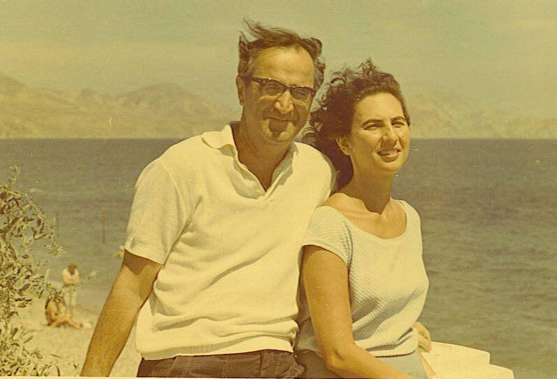 Γιώργος Σεβαστίκογλου - Άλκη Ζέη, Κριμαία, καλοκαίρι 1964