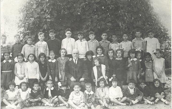 Σχολική φωτογραφία, Μαρούσι, 1934
