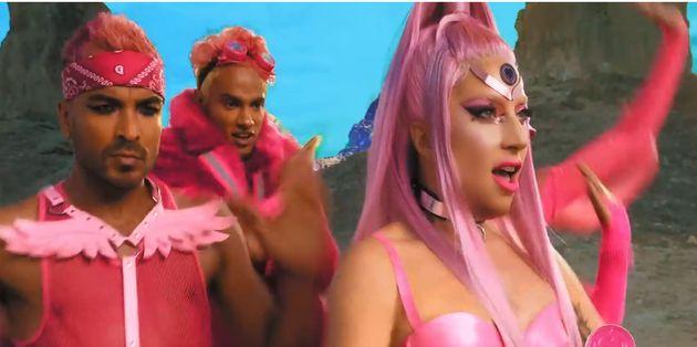 Lady Gaga dans son nouveau clip