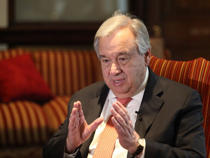 U.N. Secretary General Antonio Guterres said legal protections against rape and domestic violence were also being diluted or