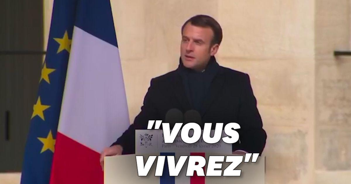 """""""L'éditorial ému"""" d'Emmanuel Macron en adieu à Jean Daniel"""