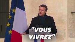 """L'éditorial ému"" d'Emmanuel Macron en adieu à Jean"