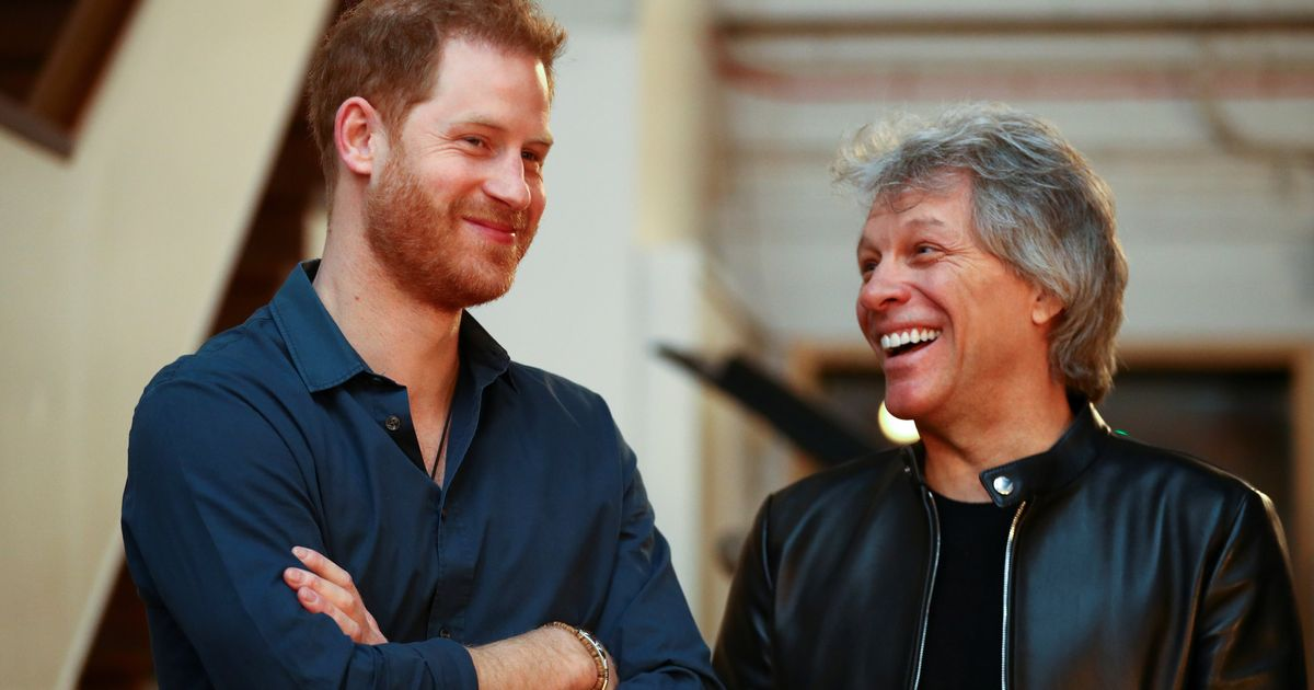 Prince Harry And Bon Jovi Is The Musical Collaboration We Didn't Know We Needed