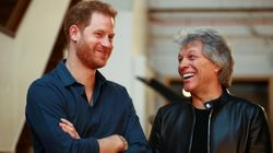 Prince Harry And Bon Jovi Is The Musical Collaboration We Didn't Know We