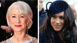 Helen Mirren Has A Lot To Say About Prince Harry And Meghan Markle's