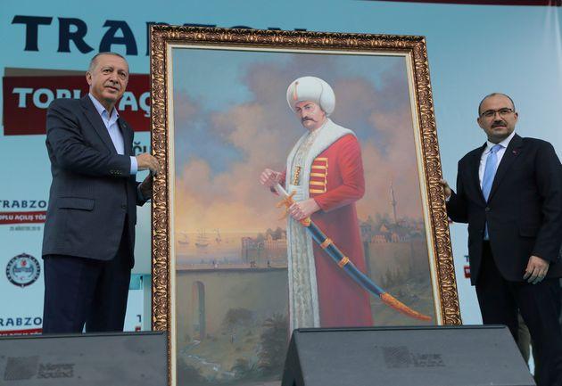 Ο Πρόεδρος της Τουρκίας...