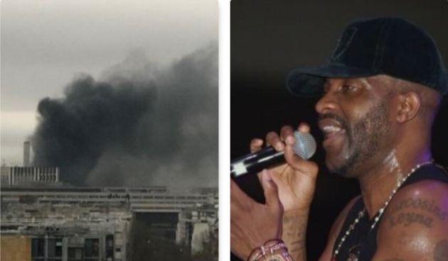 Scontri per il concerto del rapper Fally Ipupa, incendio vic