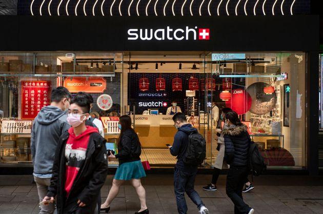 Tienda Swatch en Hong