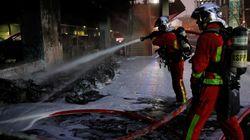 Μεγάλη φωτιά και ταραχές στο Παρίσι εξαιτίας