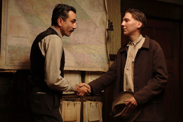 "Daniel Day-Lewis and Paul Dano in ""There Will Be Blood."""