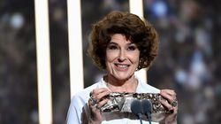 "Fanny Ardant prend la défense de Polanski, ""seul contre"
