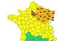 Tempête Jorge: Météo-France place 23 départements en vigilance
