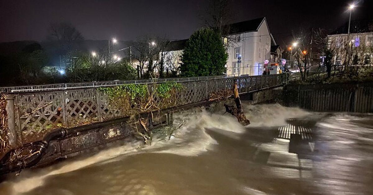 'Critical Incident' Declared In South Wales After Flooding As Storm Jorge Arrives