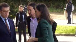 Pablo Iglesias responde a las críticas por este gesto con la reina