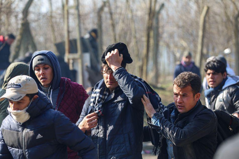 Μετανάστες στα σύνορα Τουρκίας - Ελλάδας
