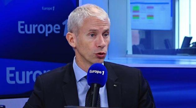 Franck Riester, ministre de la Culture, sur Europe 1 le 29 février