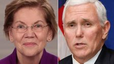 Warren Makes It Crystal Clear What She Thinks About Pence's Coronavirus Role