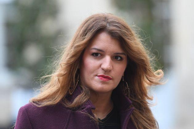 Marlène Schiappa, ici à l'hôtel de Matignon à Paris le 25 novembre