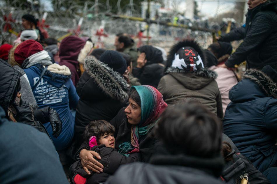 Μετανάστες στα σύνορα Τουρκίας-Ελλάδας