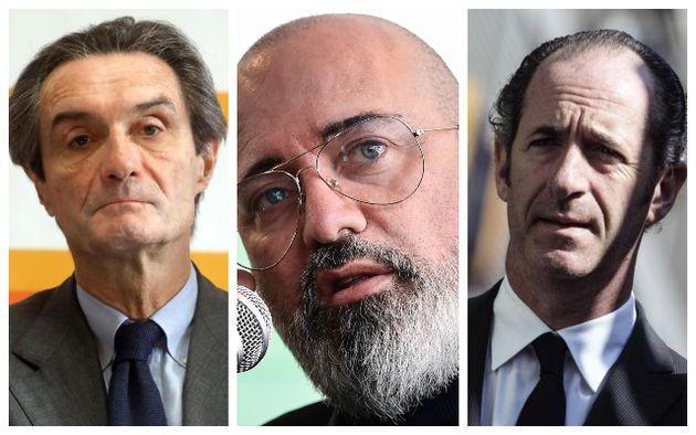 Attilio Fontana, Stefano Bonaccini e Luca