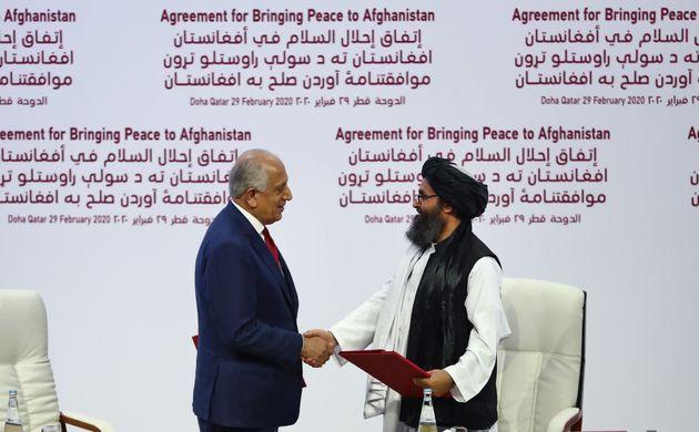 Histórico acuerdo de paz entre EEUU y los talibanes en